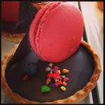 Macaroon Chocolate Tart